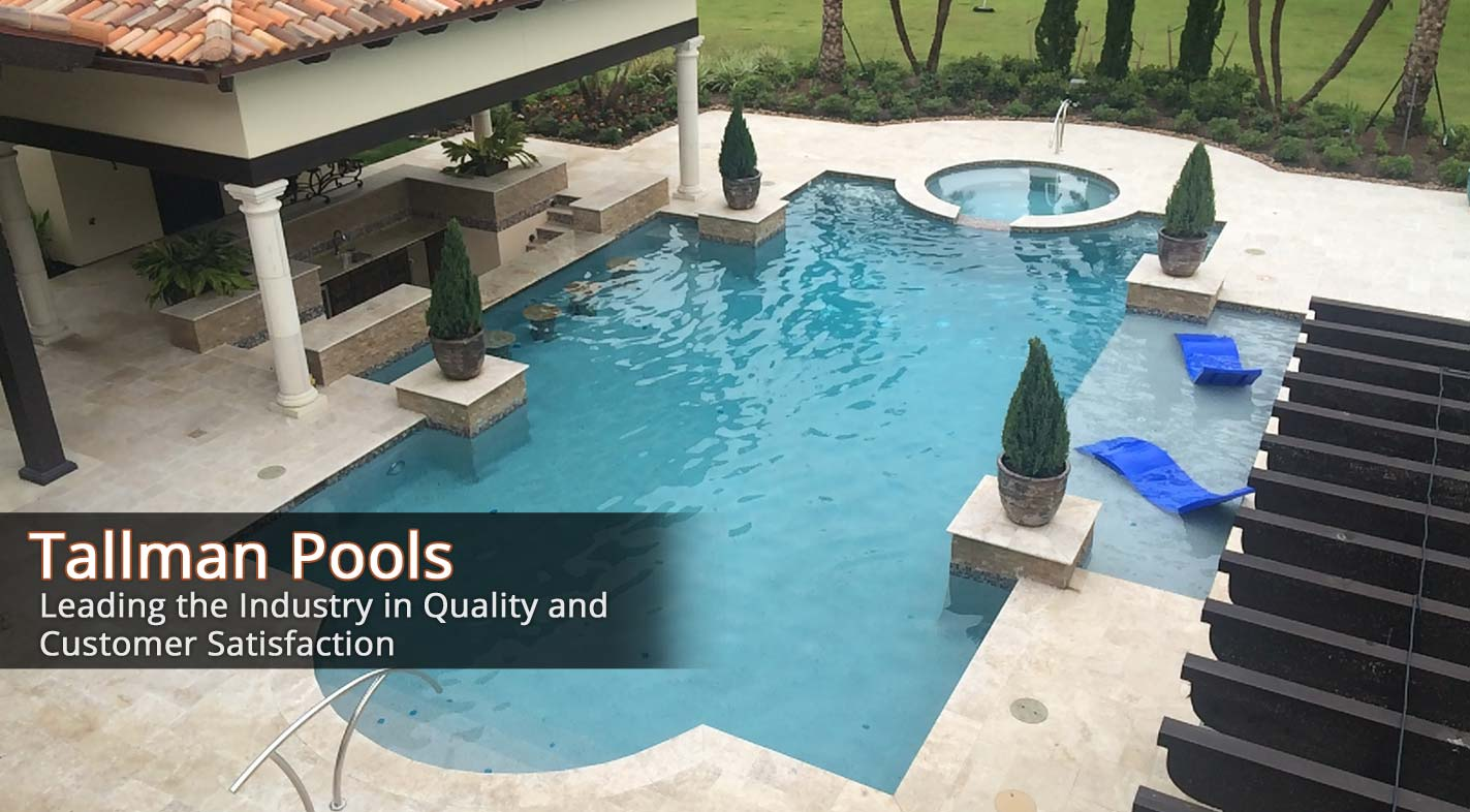 Swimming Pool Treatment Service : Tallman pools swimming pool builder servicing custom